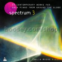 Spectrum 3 CD (Piano)