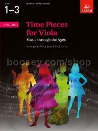 Time Pieces for Viola, Volume 1