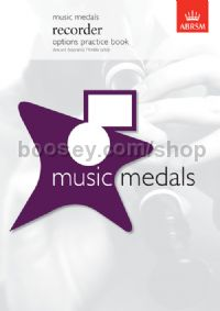 Music Medals Recorder Options Practice Book