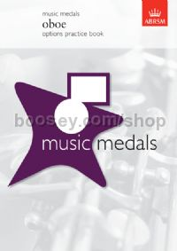 Music Medals Oboe Options Practice Book