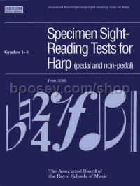 Specimen Sight-Reading Tests for Harp, Grades 1–8 (pedal and non-pedal)