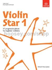 Violin Star 1, Accompaniment book