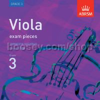 Viola Exam Pieces 2008-2016 CD, ABRSM Grade 3