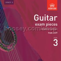 Guitar Exam Pieces 2009 CD, ABRSM Grade 3