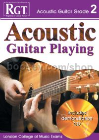 RGT Acoustic Guitar Playing Grade 2 (Book & CD)