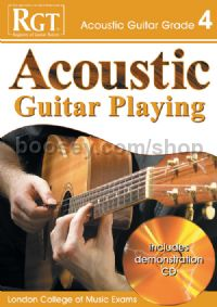 RGT Acoustic Guitar Playing Grade 4 (Book & CD)