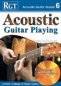 RGT Acoustic Guitar Playing Grade 6 (Book & CD)