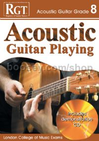 RGT Acoustic Guitar Playing Grade 8 (Book & CD)