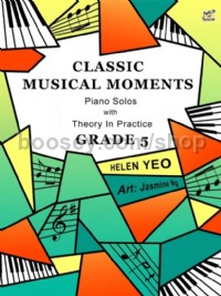 Classical Musical Moments with Theory in Practice Grade 5 (Piano)
