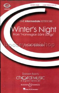 Winter's Night SA, soprano sax, piano & triangle