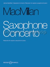 Saxophone Concerto (Piano Reduction & Solo Part)