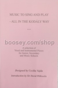 Music to Sing and Play - All in the Kodály Way (2 x CDs)