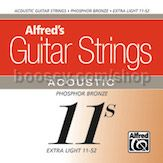 Guitar Strings: Acoustic (11s Extra Light)