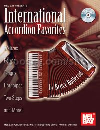 International Accordion Favourites (Book & CD)