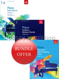 ABRSM Piano Exams 2019-2020 Grade 1 Bundle Offer (Book & CD) - Save 10%