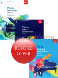 ABRSM Piano Exams 2019-2020 Grade 1 Bundle Offer (Book Only) - Save 10%
