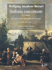 Sinfonia Concertante in A Major KV Anh. 104 (320e) (score)