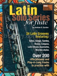 Latin Solo Series for Flute (Book & Online Audio)