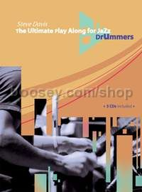 The Ultimate Play Along for Jazz Drummers - percussion (+ 3 CDs)