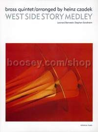 West Side Story Medley - brass quintet (score & parts)
