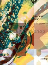 Morning Star - 5 saxophones (S/AATTBar) with piano, guitar (ad lib), double bass, percussion (score
