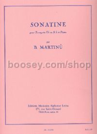Sonatine for Trumpet (C or Bb) and Piano