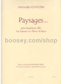 Paysages (Eb/Bb edition)
