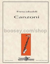 Canzoni for bass clarinet & piano