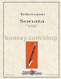 Sonata in A minor for bass clarinet & piano