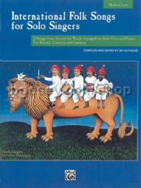 International Folk Songs for Solo Singers (Medium/Low) (Book Only)