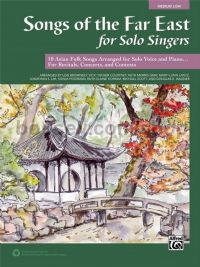 Songs of the Far East for Solo Singers (Medium/low Voice)