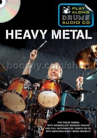 Play Along Drums Audio CD Heavy Metal + Booklet