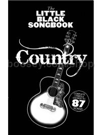 Little Black Songbook Country