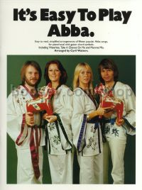It's Easy to Play Abba (Easy Piano with Guitar Chords)
