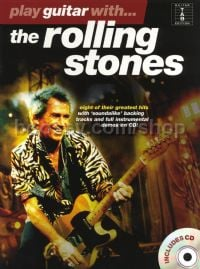 Play Guitar With... The Rolling Stones (Book & CD)