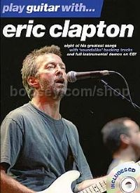 Play Guitar With... Eric Clapton (Book & CD)