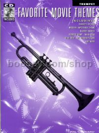 Favourite Movie Themes Trumpet (Book & CD)