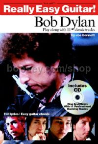 Really Easy Guitar! Bob Dylan (Book & CD)