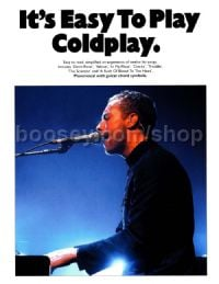 It's Easy to Play Coldplay (Easy Piano with Guitar Chords)