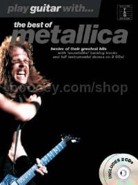 Play Guitar With... The Best Of Metallica (Book & CD)