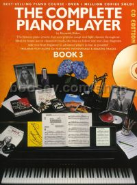 Complete Piano Player Book 3 (Bk & CD)
