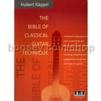 Bible Of Classical Guitar Technique