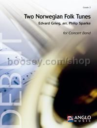Two Norwegian Folk Tunes - Concert Band (Score & Parts)