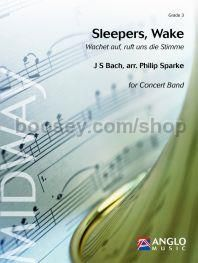 Sleepers, Wake - Concert Band (Score & Parts)