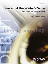 See amid the Winter's Snow - Concert Band (Score & Parts)