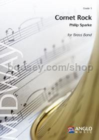 Cornet Rock - Brass Band (Score & Parts)