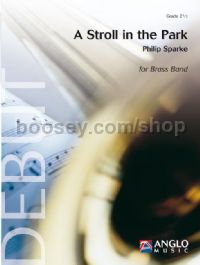 A Stroll in the Park - Brass Band (Score & Parts)