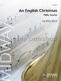 An English Christmas - Brass Band (Score & Parts)