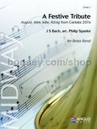 A Festive Tribute - Concert Band (Score & Parts)