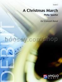 A Christmas March - Concert Band Score